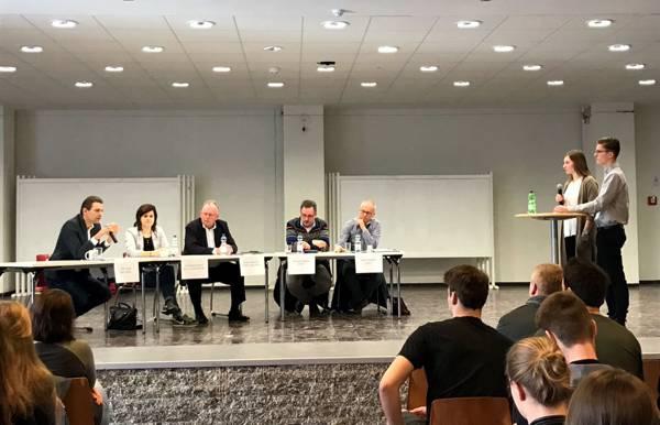 Podiumsdiskussion Landtagswahl 2017