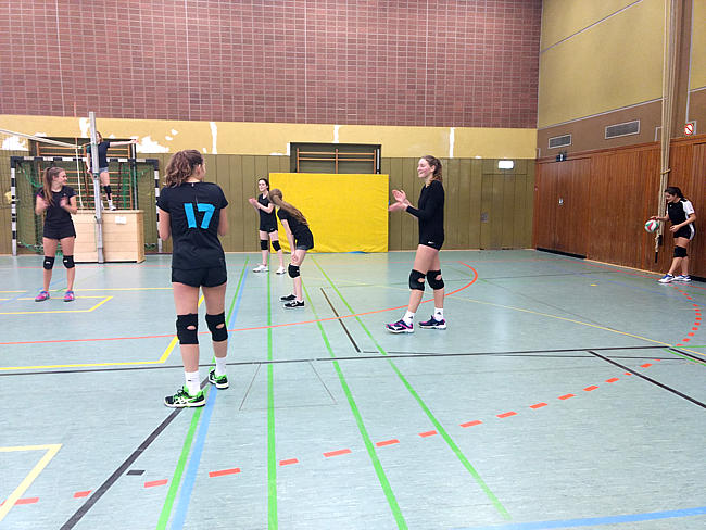 Volleyballturnier am 28.11.2017