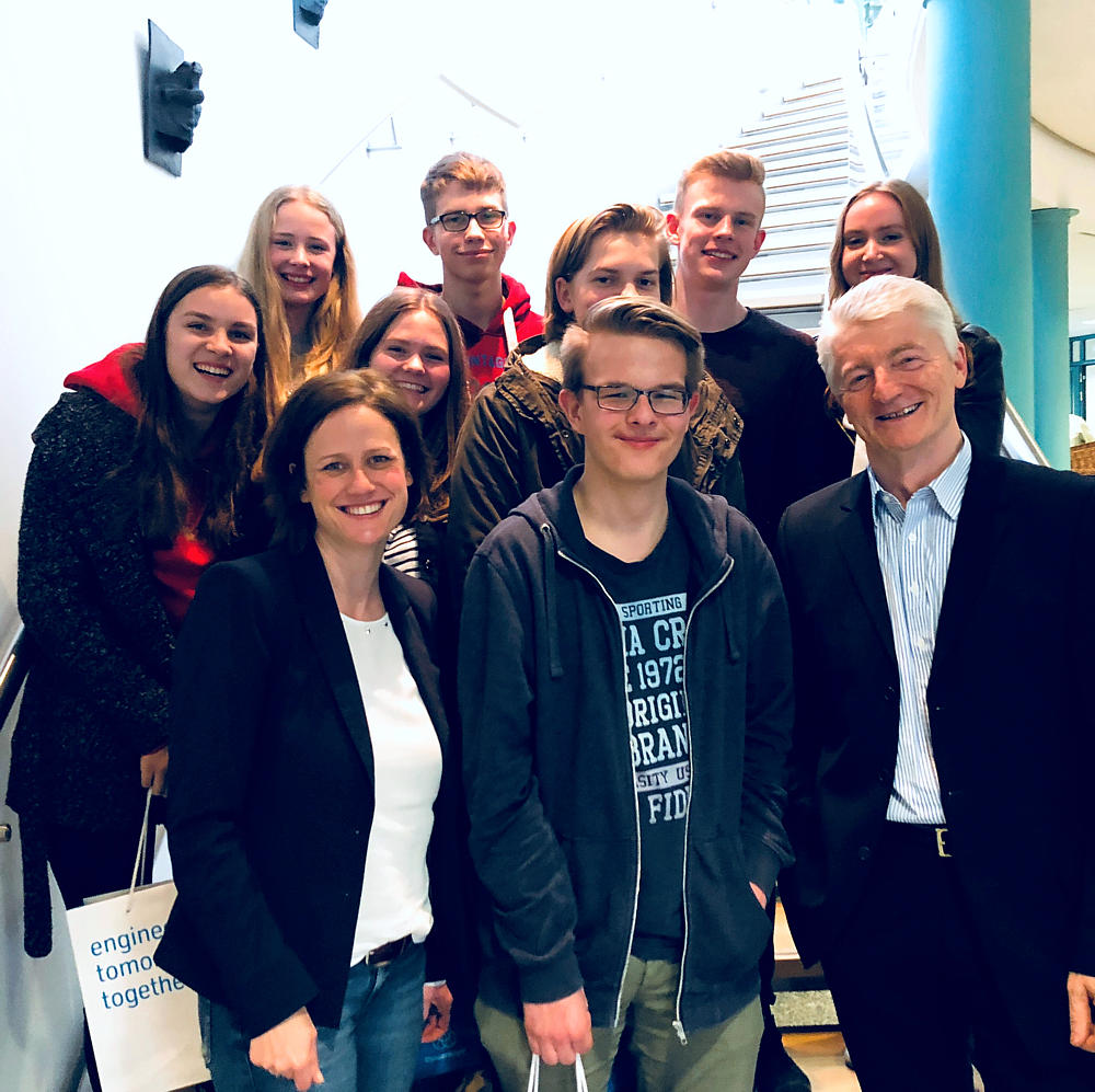 Besuch bei Thyssen Krupp am 12.03.2018