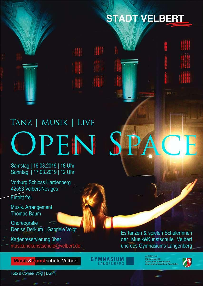 Aufführung Open Space in der Vorburg am 16. und 17.03.2019