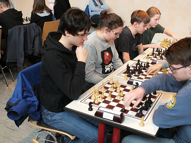 Schach-Kreismeisterschaften der Schach-AG in Mettmann
