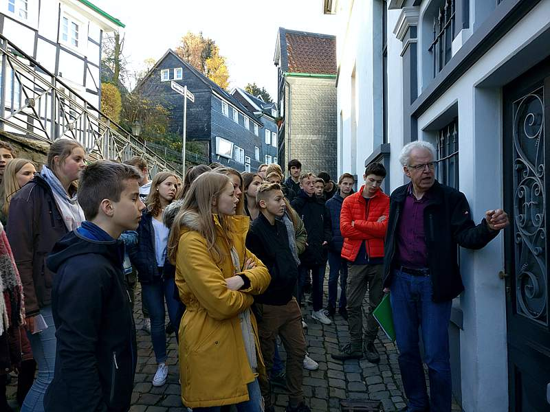 Auf den Spuren jüdischer Mitbürger in Langenberg