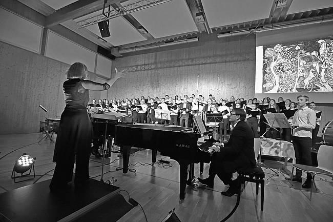 Carmina Burana des Gymnasium Langenbergs