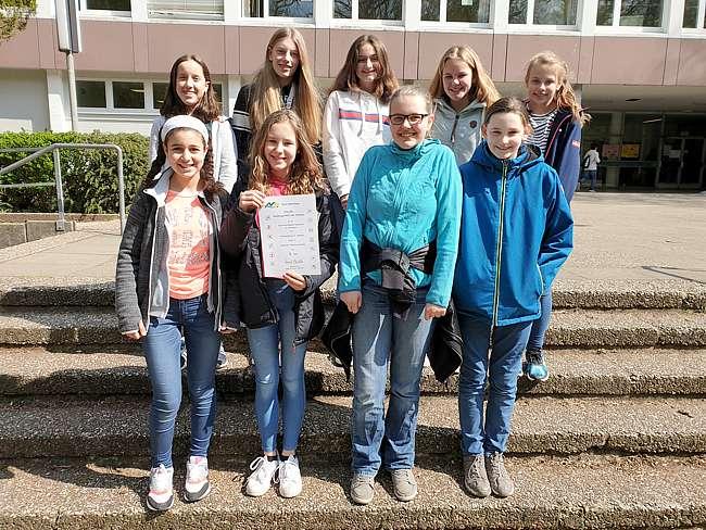 Wettkampfklasse III Mädchen, 3.Platz