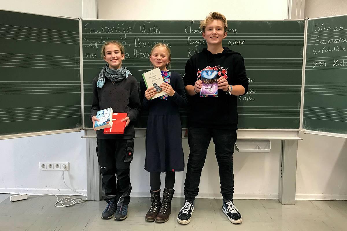 Schulsiegerin des Vorlesewettbewerbs 2019