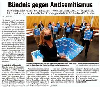 Aktiv gegen Antisemitismus
