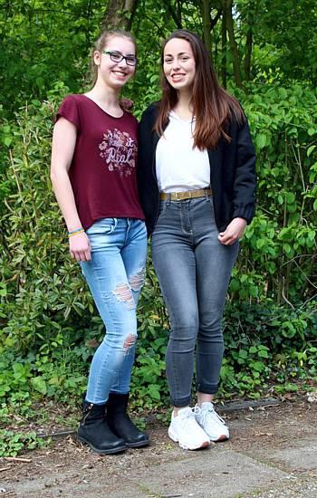 Pia und Constance