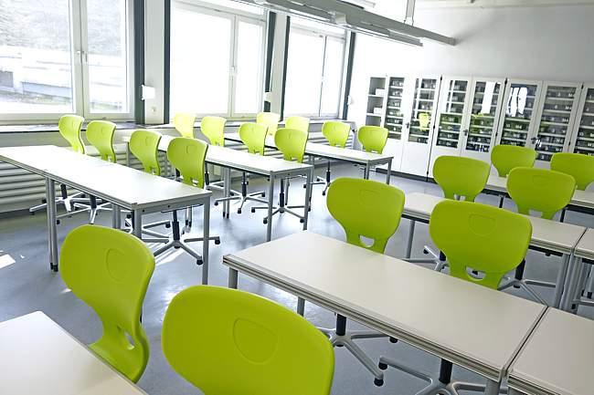 Physikunterricht am Gymnasium Langenberg