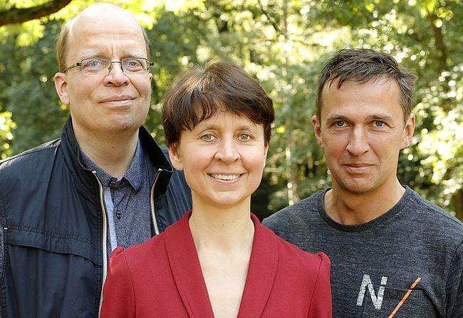 Beratungslehrer Karsten Brücker, Cornelia Brieden und Holger Fischer